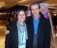 Avec Hugues Reynes, gynecologue obstétricien, dont l'enseignement m'a éclairé et permis d'accompagner mon dernier bébé dans sa naissance...